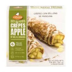 比利時Creapan蘋果薄餅卷
